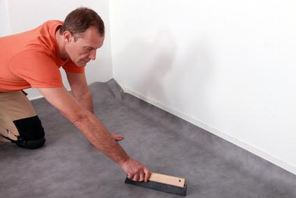 linoleum und pvc verlegen anleitung. Black Bedroom Furniture Sets. Home Design Ideas